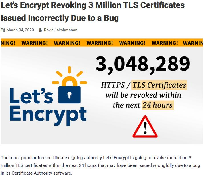 thehackernews.com lets-encrypt-certificate-revocation.jpg