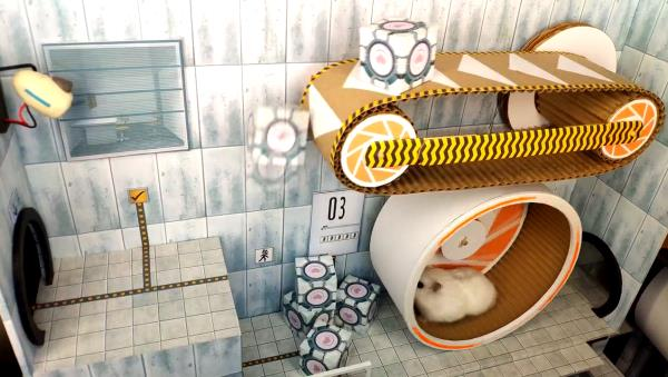 youtube.com Captain Hamster - Maze for Pets - Hamster escapes. Obstacle course.jpg
